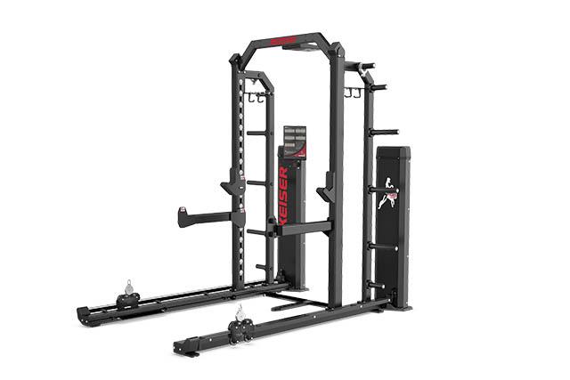 Keiser-Half-Rack-With-Air-Fitness-Machine-1030