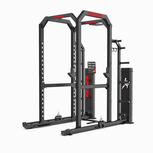 Keiser-Power-Rack-With-Air-Fitness-Machine-0530-grey